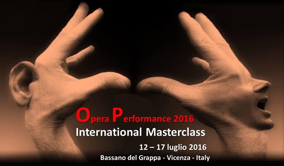 opera performance grafica